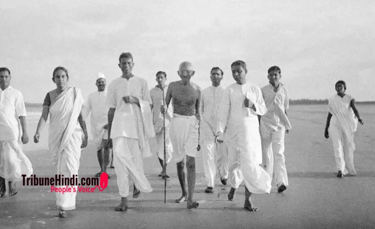 खोट गांधी की प्रासंगिकता में नहीं, हमारे साहस में है !