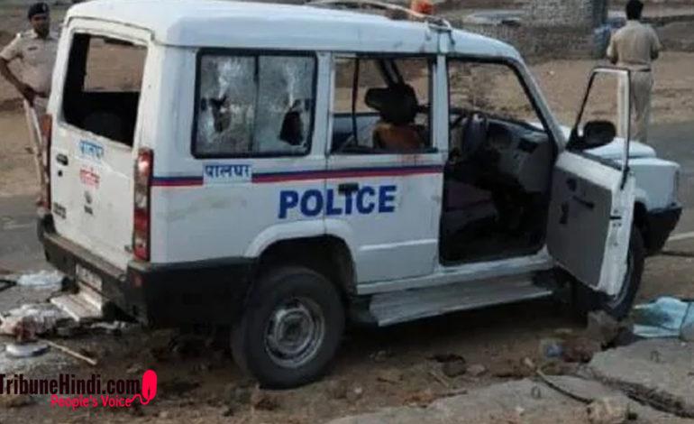 दो साधुओं और ड्राईवर की लिंचिंग, 101 लोग गिरफ़्तार