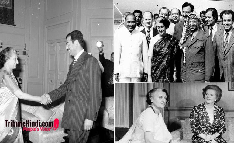 """तस्वीरों में देखें, कैसा था """"इंदिरा गांधी"""" का व्यक्तित्व ?"""