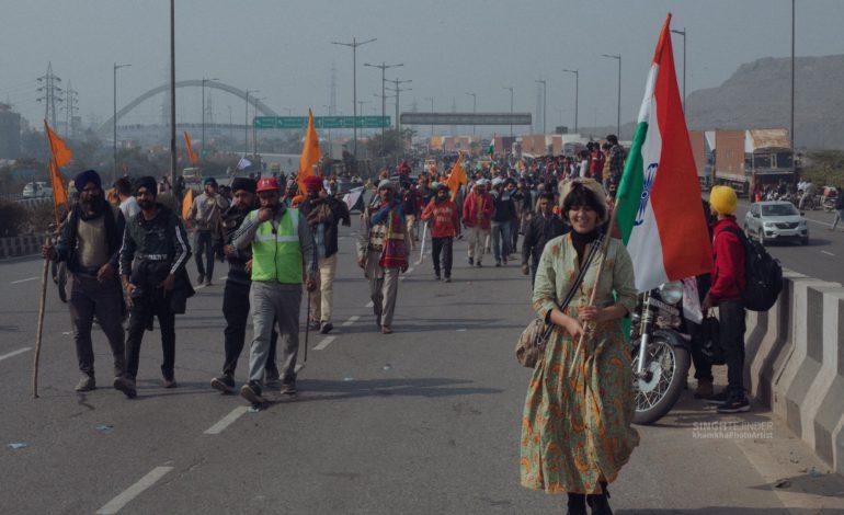 किसान आंदोलन का हल राजनीतिक तरीकों से ही निकलेगा, पुलिस के बल प्रयोग से नह।