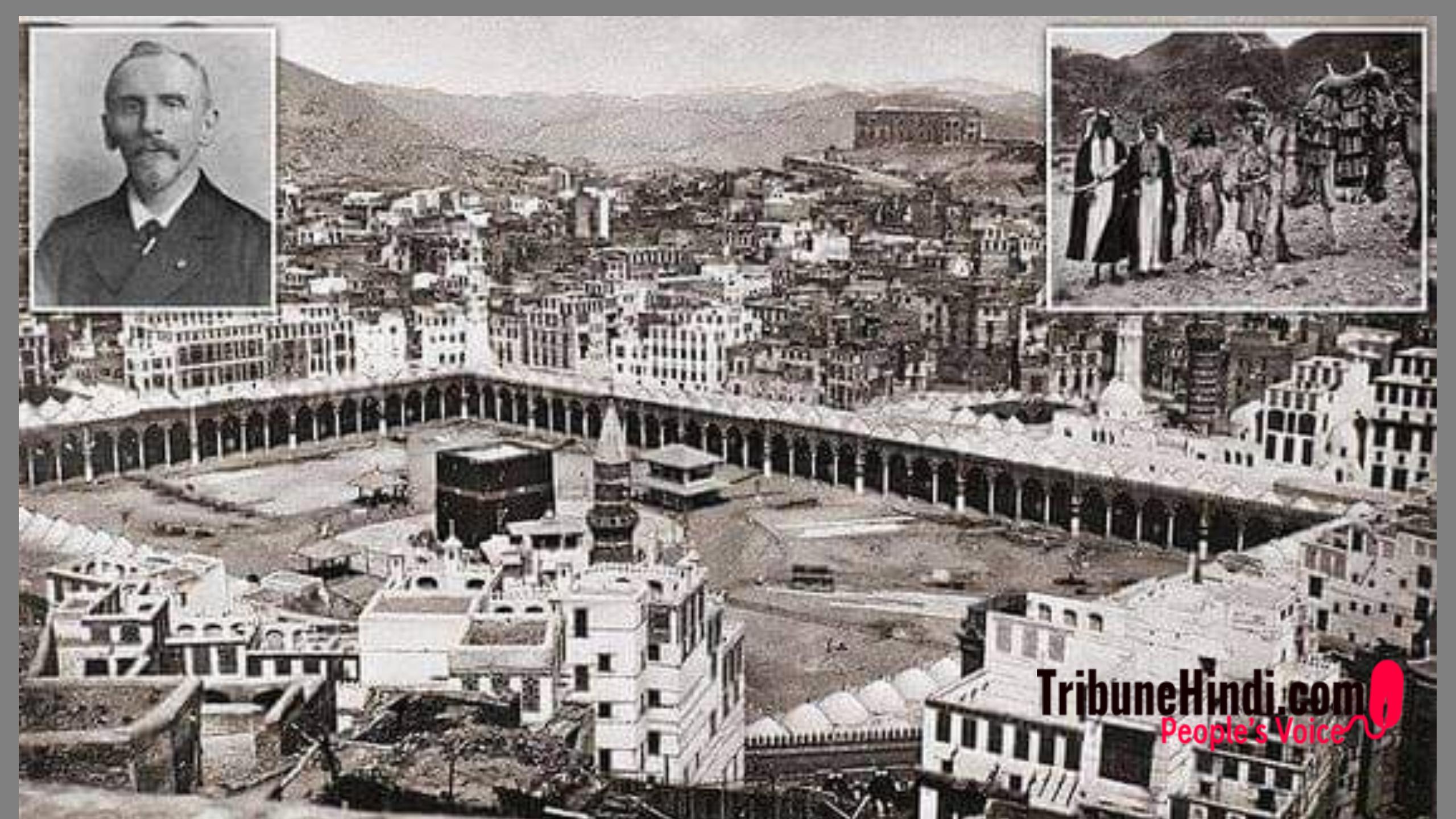 """मक्का स्थित """"क़ाबा"""" की इस तस्वीर के फोटोग्राफर के बारे में सुनकर आप चौंक जाएंगे"""
