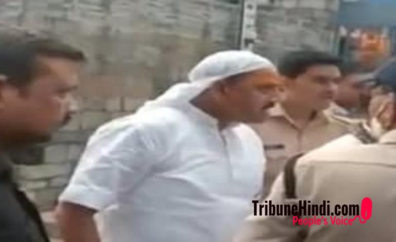 भाजपा के सांसद ने किया भगवान भोलेनाथ के धाम में तमाशा