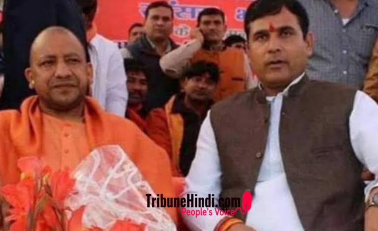 यूपी के ये भाजपा विधायक सुर्खियों में क्यों है?
