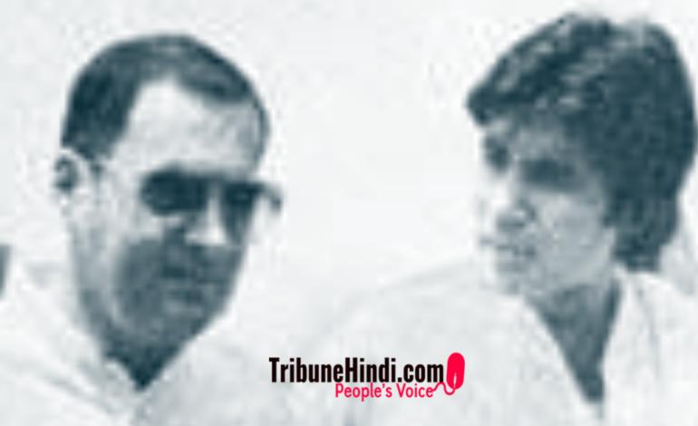 """राजीव गांधी ने क्यों """"अमिताभ"""" बच्चन को सांप कह दिया था"""