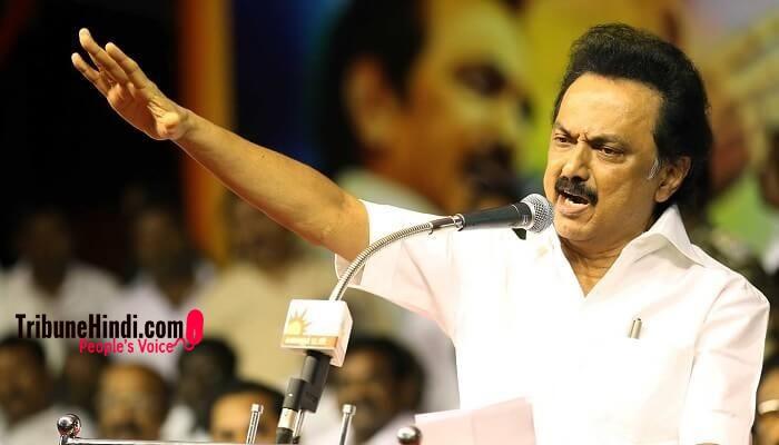 दक्षिण भारत में हिंदी विरोधी आंदोलन की अगुवाई करने वाली पार्टीः DMK