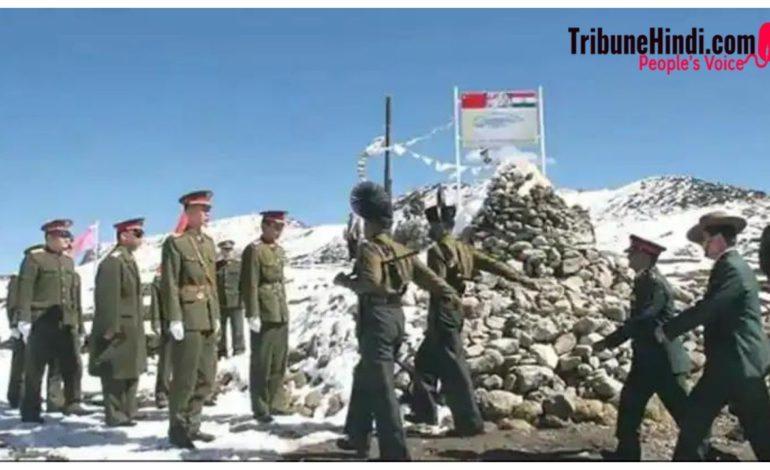एक बार फिर भारत-चीन सीमा पर बढ़ा तनाव